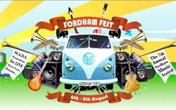 Fordham Fest logo