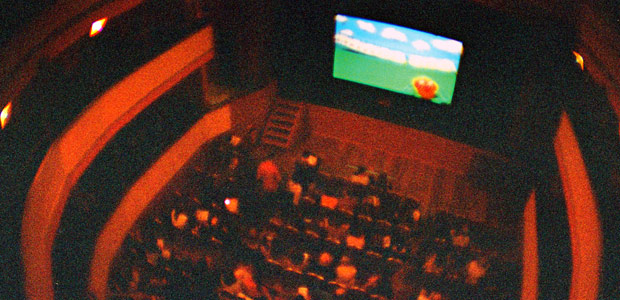 The audience at Strawberry Shorts 2012 in The Cambridge Festival Theatre. Photo by Marc Abraham
