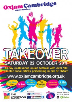 Oxjam Cambridge Takeover