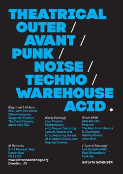 Reworks 2012 event poster