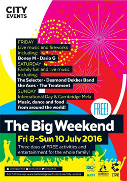 The Big Weekend 2016 poster